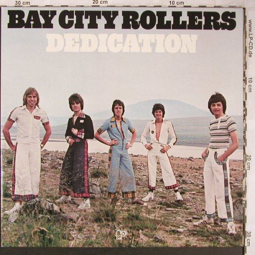 Bay City Rollers: Dedication,Foc, Bell(062-98 177), D, 1976 - LP - X5008 - 6,00 Euro