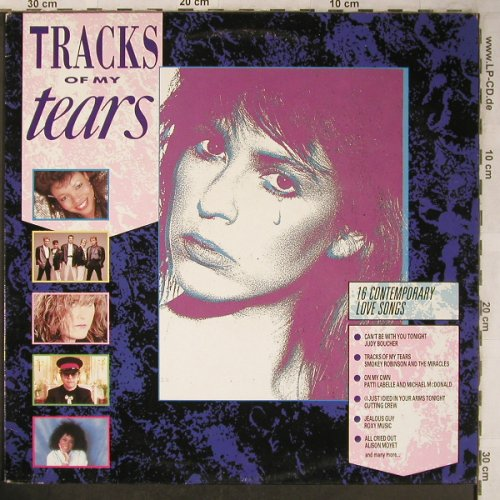 V.A.Tracks of my tears: Smokey Robinson&M...J.Logan, Telstar(STAR 2295), UK, 1987 - LP - X5058 - 4,00 Euro