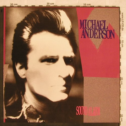 Anderson,Michael: Sound Alarm, AM(395 203-1), D, 1988 - LP - X505 - 2,00 Euro