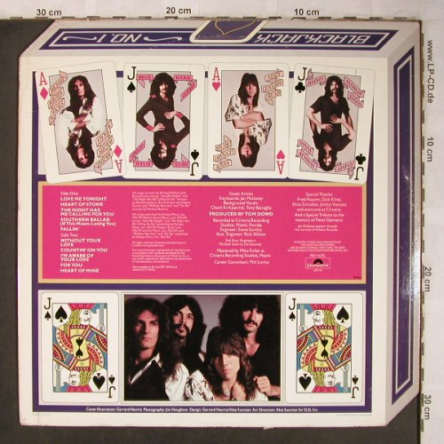 Blackjack: Same, m-/vg-, Polydor(PD-16215), US, 1979 - LP - X5093 - 7,50 Euro