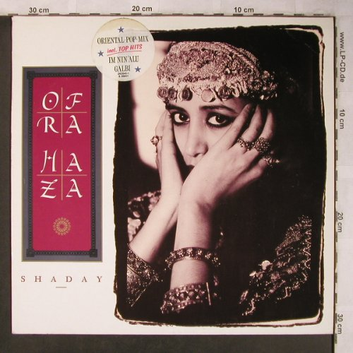 Haza,Ofra: Shaday, Teldec(6.26841 AS), D, 1988 - LP - X5096 - 5,50 Euro
