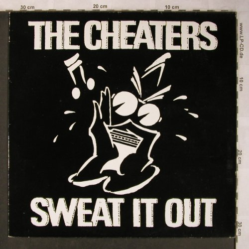 Cheaters: Sweat It Out, White Vinyl, Line/Albion(ALLP 4.00012 J), D, 1983 - LP - X5115 - 6,00 Euro
