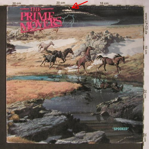 Prime Movers: Spooked, m-/vg+, Birdcage(DROP 004), US, 1988 - LP - X5127 - 9,00 Euro