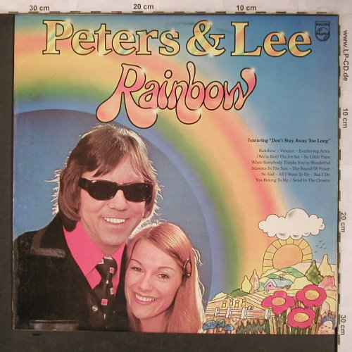 Peters & Lee: Rainbow, Philips(6308 208), UK, 1974 - LP - X5128 - 7,50 Euro