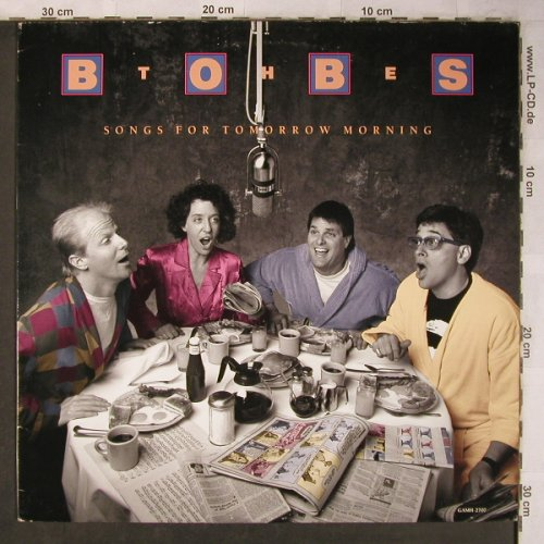 Bobs, the: Songs for Tomorrow Morning, Great American MusicHall(GAMH-2701), US, 1988 - LP - X5129 - 7,50 Euro