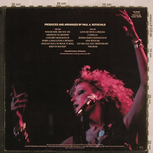 Midler,Bette / Alan Bates: The Rose, Soundtrack, Atlantic(ATL 50 681), D, 1979 - LP - X512 - 5,00 Euro