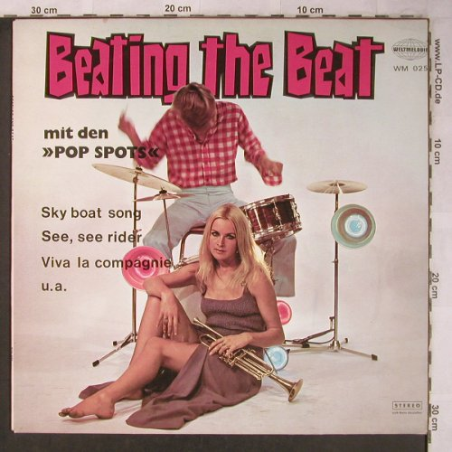 Pop Spots: Beating the Beat, vg+/m-, Weltmelodie(WM 025), D,  - LP - X5229 - 9,00 Euro