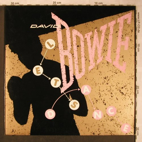 Bowie,David: Let's Dance lg.vers. / Cat People, EMI(K 052-86 660 Z), D, 1983 - 12inch - X5243 - 5,00 Euro
