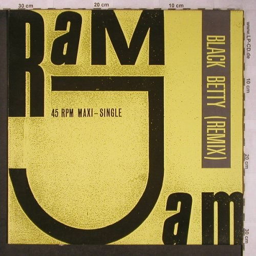 Ram Jam: Black Betty*3(remix,orig.,rr remx), Epic(665430 6), NL,m-/vg+, 1989 - 12inch - X5268 - 3,00 Euro
