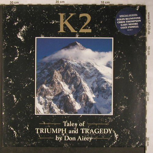 Airey,Don: K2-Tales of Triumph and Tragedy by, MCA(255 981-1), D, m-/vg+, 1988 - LP - X5303 - 7,50 Euro