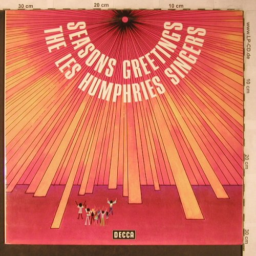 Les Humphries Singers: Seasons Greetings, Foc, Decca(SLK 16 767-P), D, 1972 - LP - X5307 - 7,50 Euro