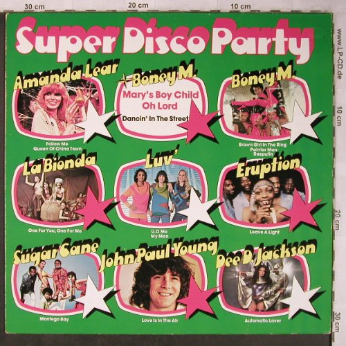 V.A.Super Disco Party: Boney M., Amanda Lear, La Bionda, Hansa(200 258), D, 1978 - LP - X5316 - 5,00 Euro