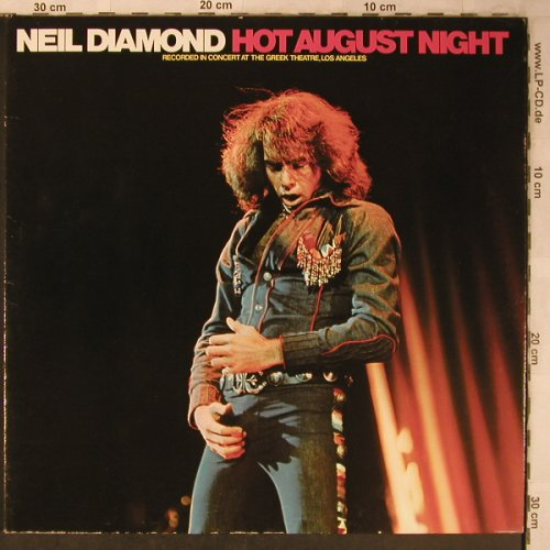 Diamond,Neil: Hot August Night, Foc, MCA(250 406-1), D, Ri, 1974 - 2LP - X5349 - 7,50 Euro