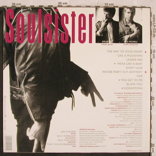 Soulsister: It Takes Two, EMI(064 1192401), D, 1988 - LP - X536 - 4,00 Euro