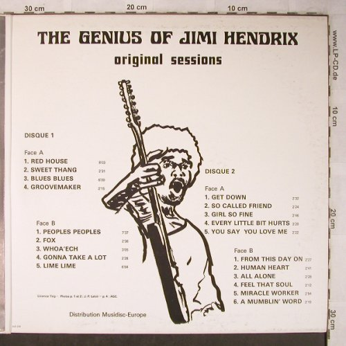Hendrix,Jimi: The Genius of, Foc, Festival(ALBUM 204), F,  - 2LP - X5433 - 20,00 Euro