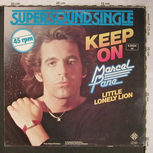 Pane,Marcel: Keep On / Little Lonely Lion, Telefunken(6.20024 AE), D, 1979 - 12inch - X5463 - 3,00 Euro