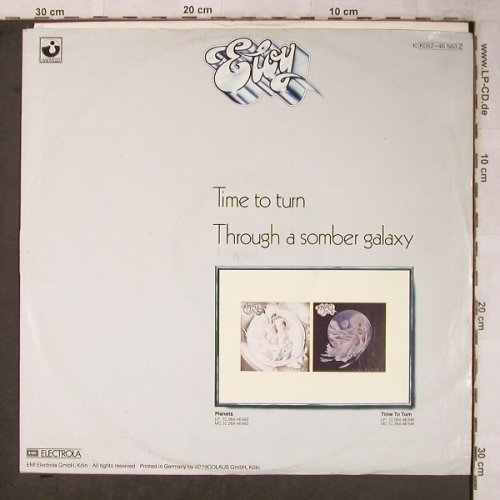 Eloy: Time To Turn/Thought a somber galax, Harvest(K052-46 583 Z), D, m-/VG-, 1982 - 12inch - X5482 - 9,00 Euro