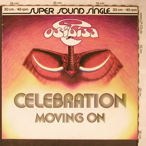 Osibisa: Celebration / Moving on, PRT Records(600 274-213), D, 1980 - 12inch - X5489 - 4,00 Euro