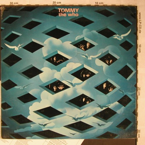 Who: Tommy, Foc, Booklet, m-/vg+, Polydor(2612 006/184216), D,  - 2LP - X5494 - 12,50 Euro