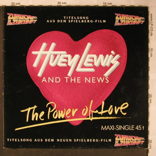 Lewis,Huey & The News: The Power Of Love+2, Chrysalis(601 949-213), D, 1985 - 12inch - X5546 - 4,00 Euro