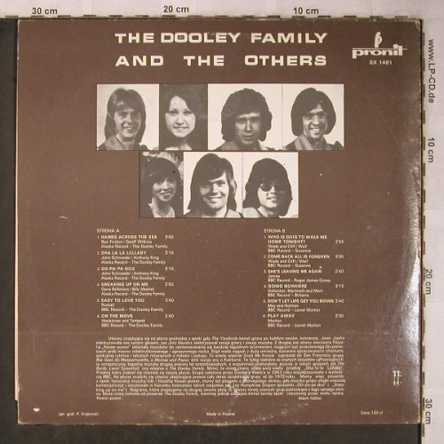 Dooley Family: and the Others, vg+/vg+, Pronit(SX 1481), PL,  - LP - X5548 - 6,00 Euro