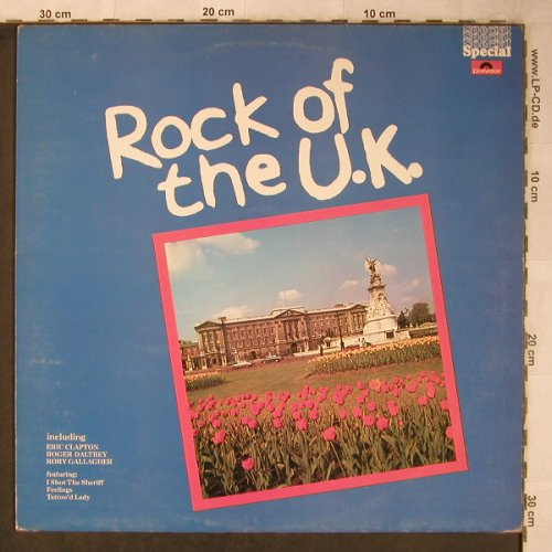 V.A.Rock of the U.K.: Eric Clapton...Cris Farlowe Band, Polydor Special(2482 358), UK, 1976 - LP - X5575 - 5,50 Euro