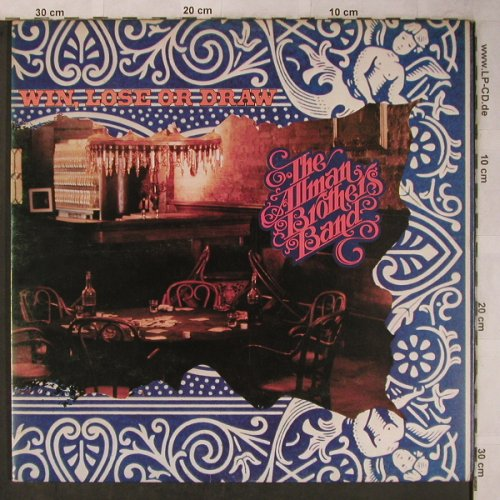 Allman Brothers Band: Win,Loose Or Draw, Foc, Capricorn(2476 116 Deluxe), UK, 1975 - LP - X5601 - 12,50 Euro