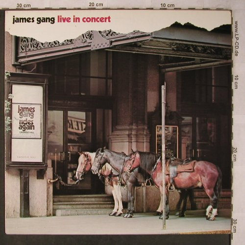 James Gang: Live In Concert, MCA(250 439-1), D, 1971 - LP - X5606 - 7,50 Euro