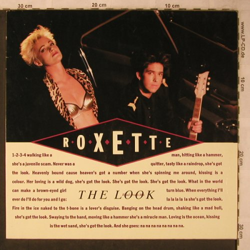 Roxette: The Look*2+1 ( Headr-Drum-Mix), EMI(13 6333 6), D, 1988 - 12inch - X5657 - 3,00 Euro