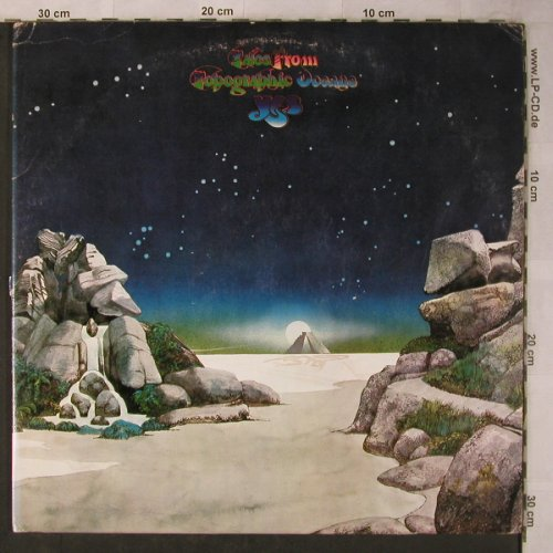 Yes: Tales From Topographic Ocean, Foc, Atlantic(ATL 80 001), D, m-/vg+, 1973 - 2LP - X5662 - 9,00 Euro