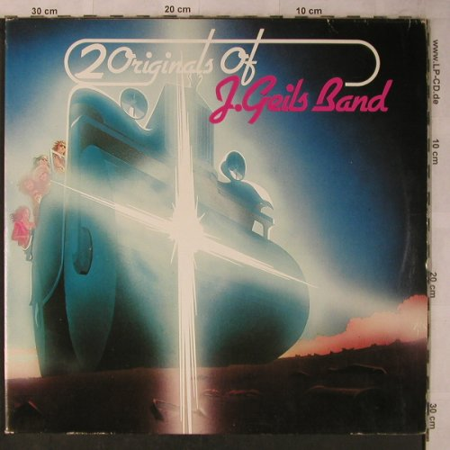 Geils Band,J.: 2 Originals Of, Foc, Atlantic(ATL 60061), D, 1973 - 2LP - X5702 - 12,50 Euro
