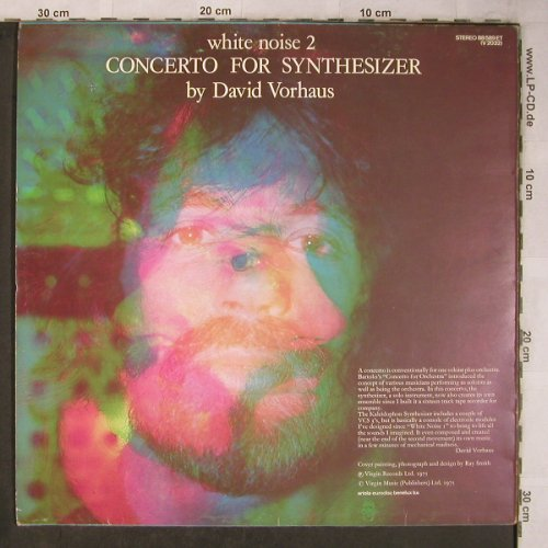 White Noise: 2 - Concerto For Synthesizer, Virgin(88 589 ET), NL m /vg+, 1975 - LP - X5708 - 20,00 Euro