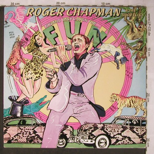Chapman,Roger & the Shortlist: Hyenas Only Laugh For.., Line(6.24850 AS), D, 1981 - LP - X5730 - 5,50 Euro