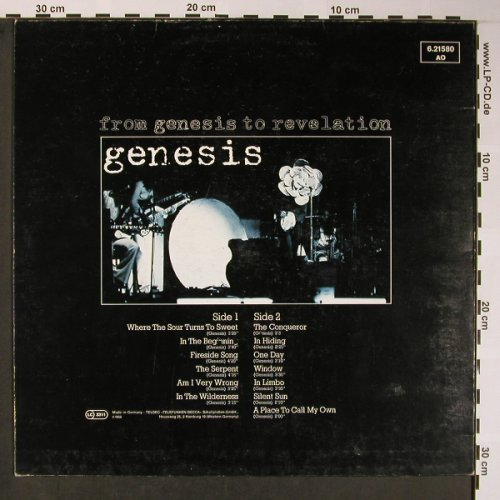 Genesis: From Genesis To Revelation'69, Ri, Nova(6.21580 AO), D, m-/vg+,  - LP - X5774 - 5,50 Euro