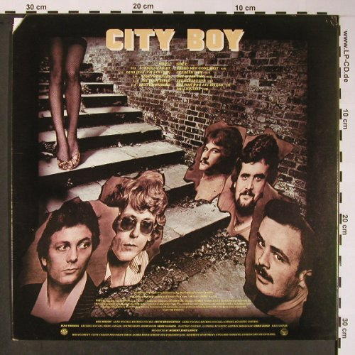 City Boy: Young Men Gone West, Mercury(SRM-1-1182), US, co, 1977 - LP - X5778 - 7,50 Euro