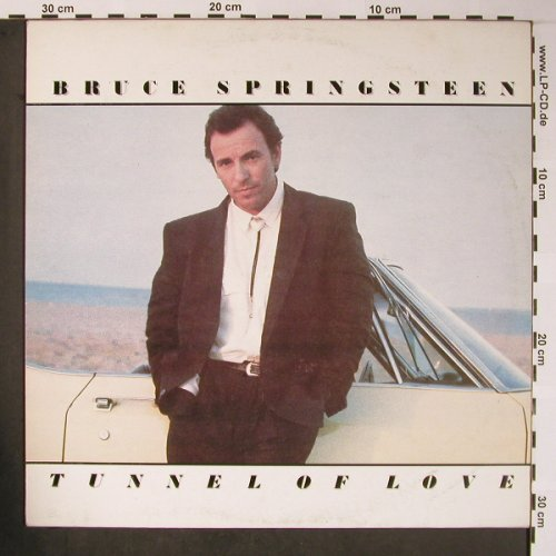 Springsteen,Bruce: Tunnel Of Love, Polskie Nagrania/CBS(SX 2693), PL, 1988 - LP - X5839 - 7,50 Euro