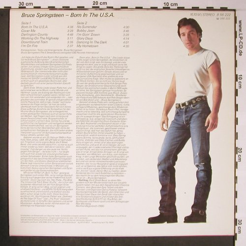 Springsteen,Bruce: Born In The USA, Amiga(8 56 222), DDR, 1986 - LP - X5840 - 7,50 Euro