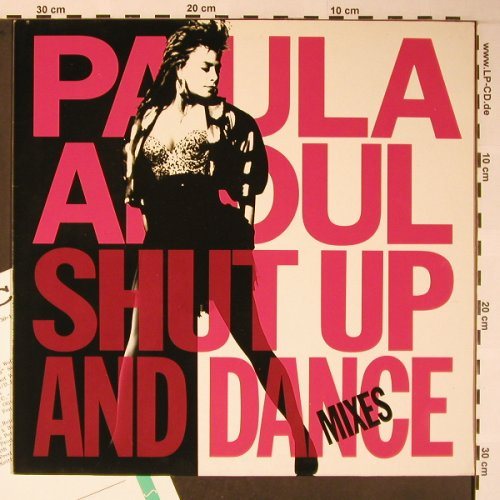 Abdul,Paula: Shut Up And Dance Mixes,7 Tr,vg+/m-, Virgin America(210 704), D, Facts, 1990 - LP - X5891 - 6,00 Euro