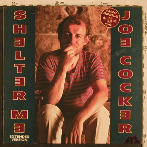 Cocker,Joe: Shelter Me+2, Capitol(20 0710 6), D, 1985 - 12inch - X592 - 3,00 Euro