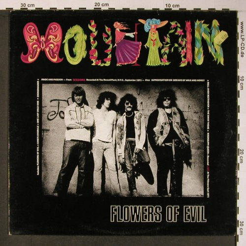 Mountain: Flowers Of Evil, Ri, BGO(BGOLP113), UK,  - LP - X5946 - 12,50 Euro