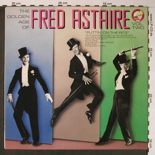 Astaire,Fred: The Golden Age of, Vol.2, EMI(GX 41 2538 1), UK, 1985 - LP - X5955 - 5,00 Euro