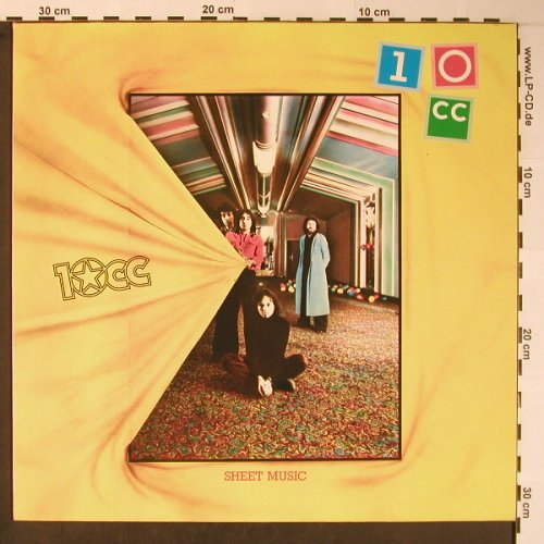 10cc: Sheet Music, Mercury(6310 508), D, 1974 - LP - X5971 - 7,50 Euro