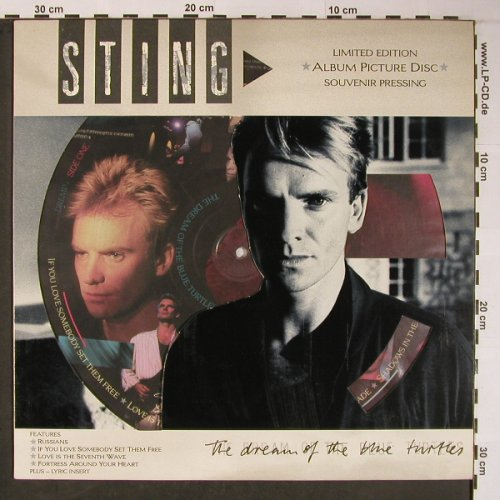 Sting: The Dream Of The Blue Turtle,Lim.Ed, AM(39 6908-1), UK, 1985 - PLP - X6051 - 19,00 Euro