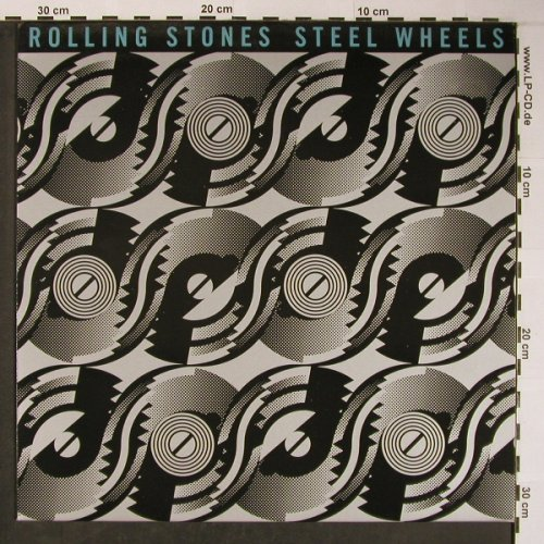 Rolling Stones: Steel Wheels, RS(465752 1), NL, 1989 - LP - X6054 - 7,50 Euro