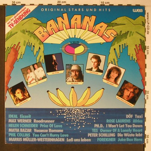V.A.Bananas: Yes...Ideal, WEA(24-0334-1), D, 1983 - LP - X6099 - 4,00 Euro