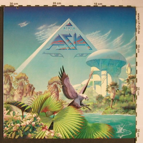 Asia: Alpha, Geffen(GHS 4008), US, co, 1983 - LP - X6117 - 5,00 Euro