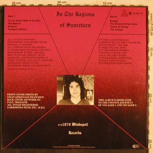 Garrison,Michael: In the Regions of Sunreturn, Ariola(202 864-320), D, 1979 - LP - X611 - 7,50 Euro