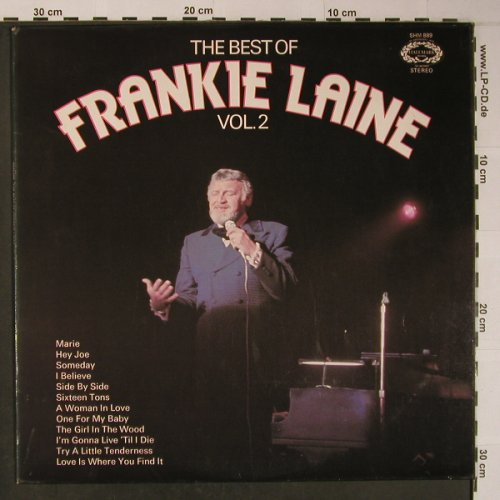 Laine,Frankie: The Best Of Vol.2, Hallmark(SHM 889), UK, 1969 - LP - X6188 - 5,50 Euro