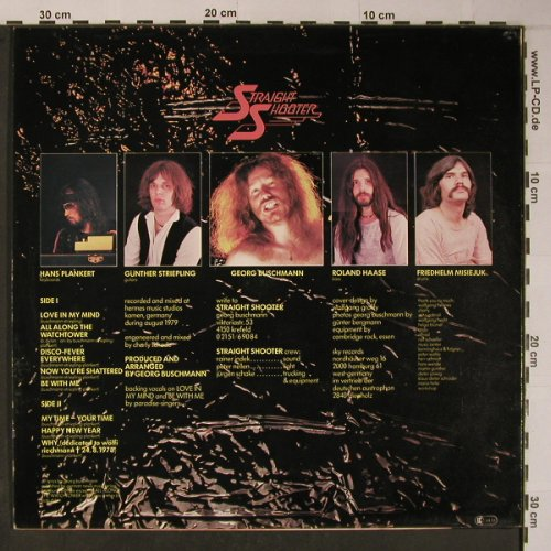 Straight Shooter: My Time-Your Time, SKY(SKY 034), D, 1980 - LP - X6210 - 9,00 Euro