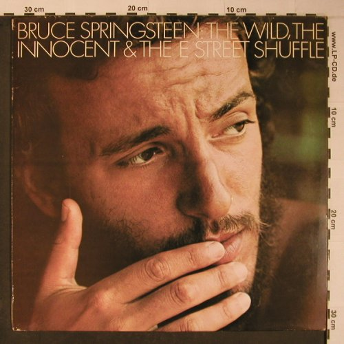 Springsteen,Bruce: The Wild,The Innocent & The..., CBS(S 65780), UK, 1973 - LP - X6211 - 7,50 Euro